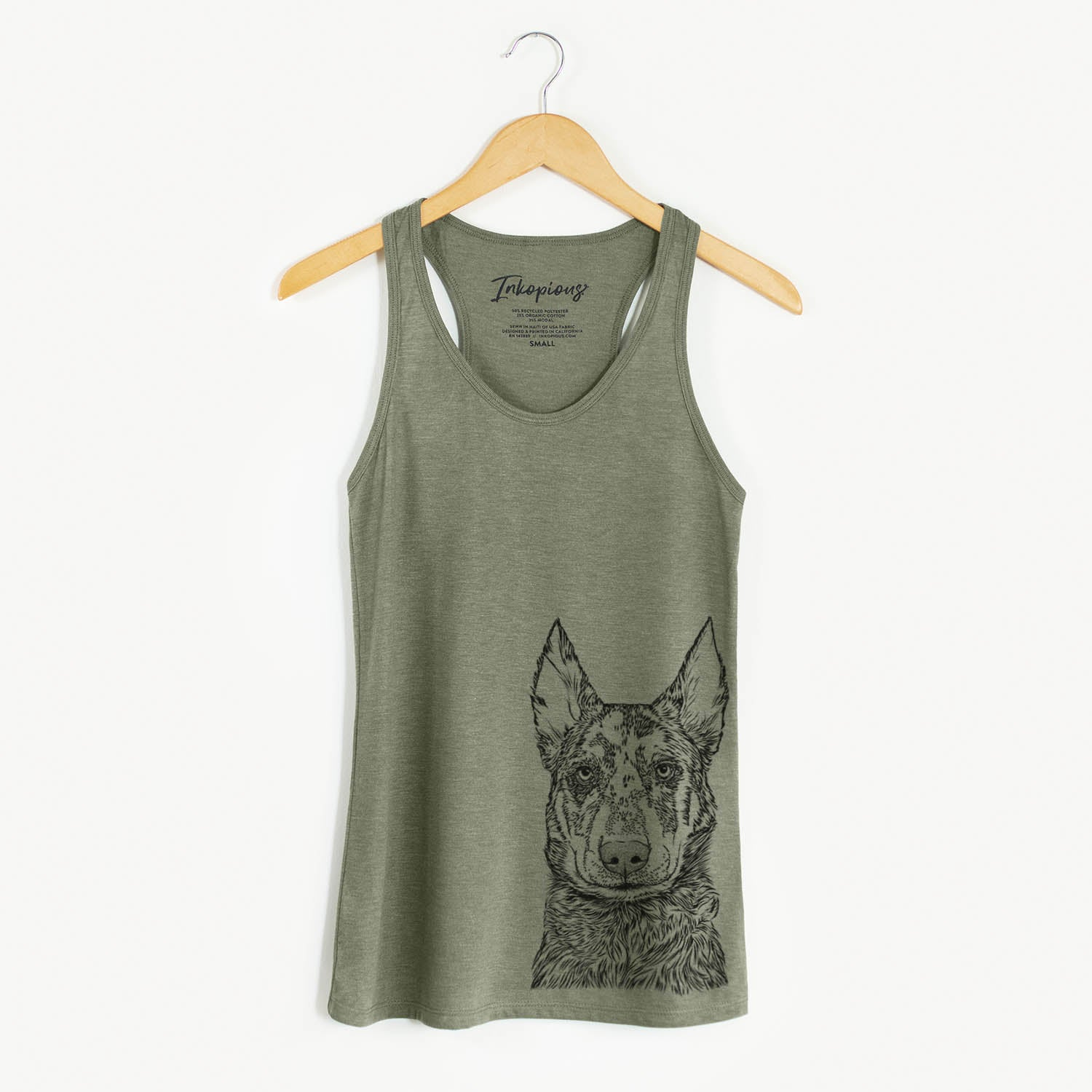 Riggs the Beauceron - Racerback Tank Top