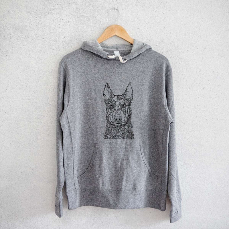 Riggs the Beauceron - French Terry Hooded Sweatshirt