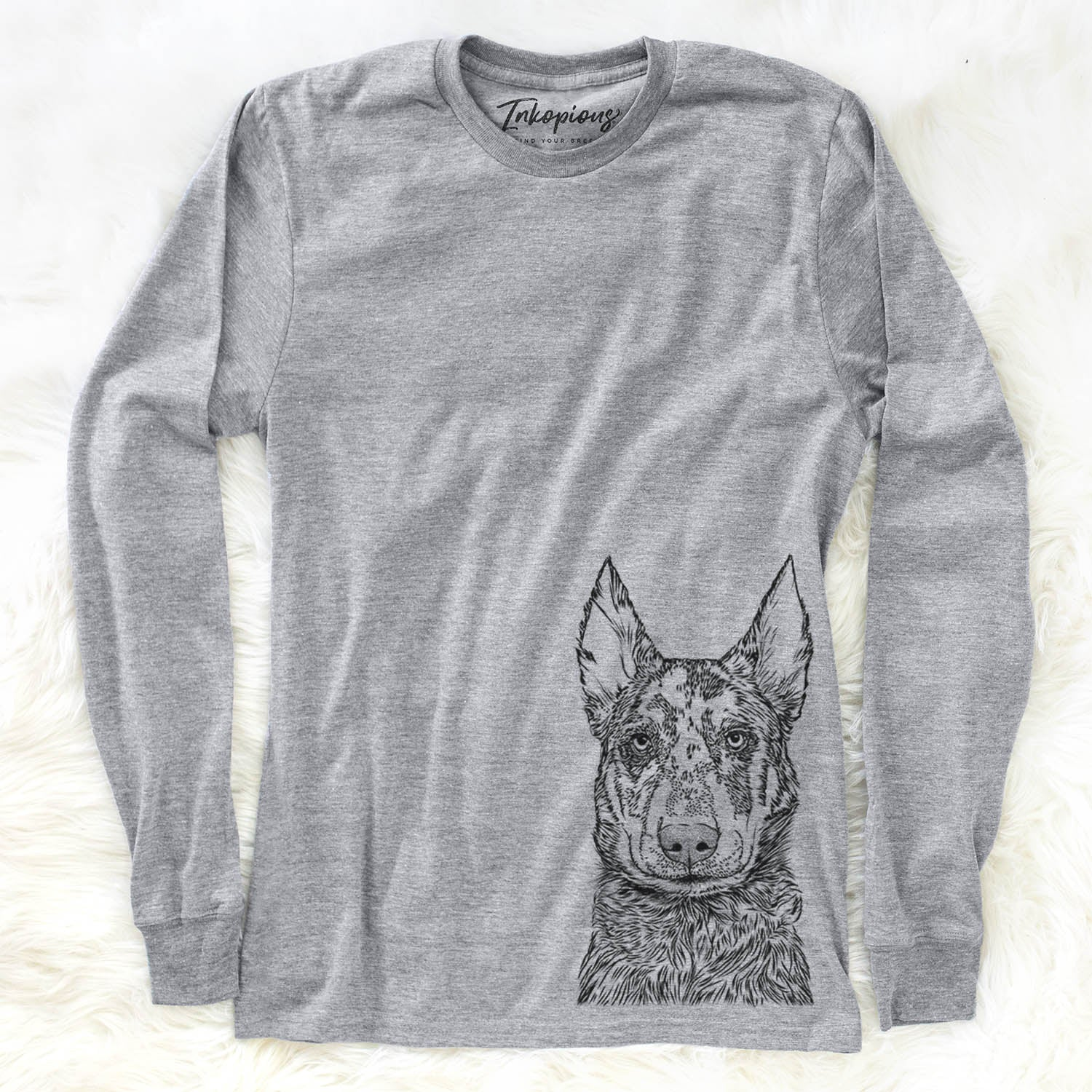 Riggs the Beauceron - Long Sleeve Crewneck