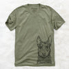 Riggs the Beauceron - Unisex V-Neck Shirt