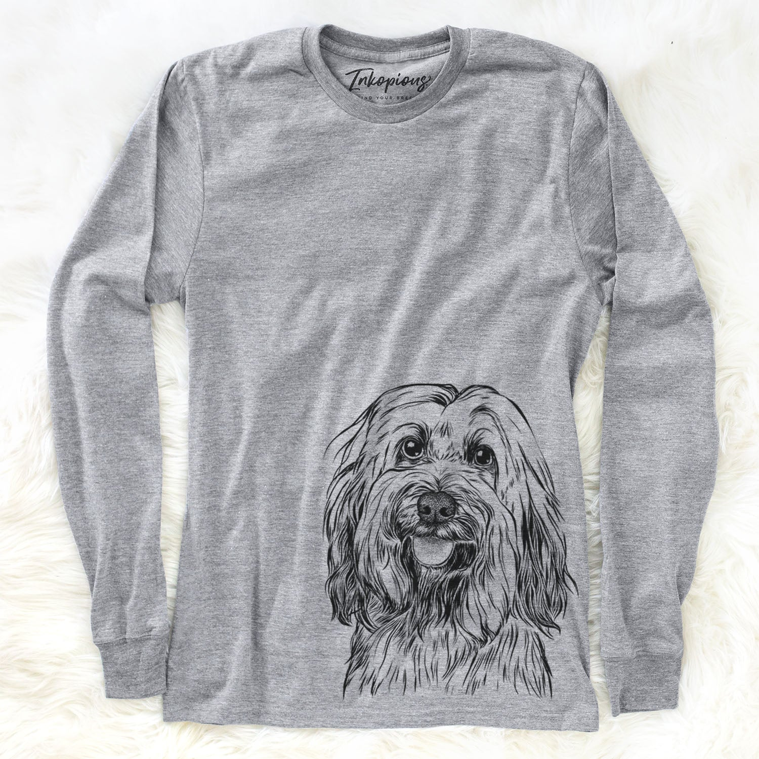 Rime the Tibetan Terrier - Long Sleeve Crewneck