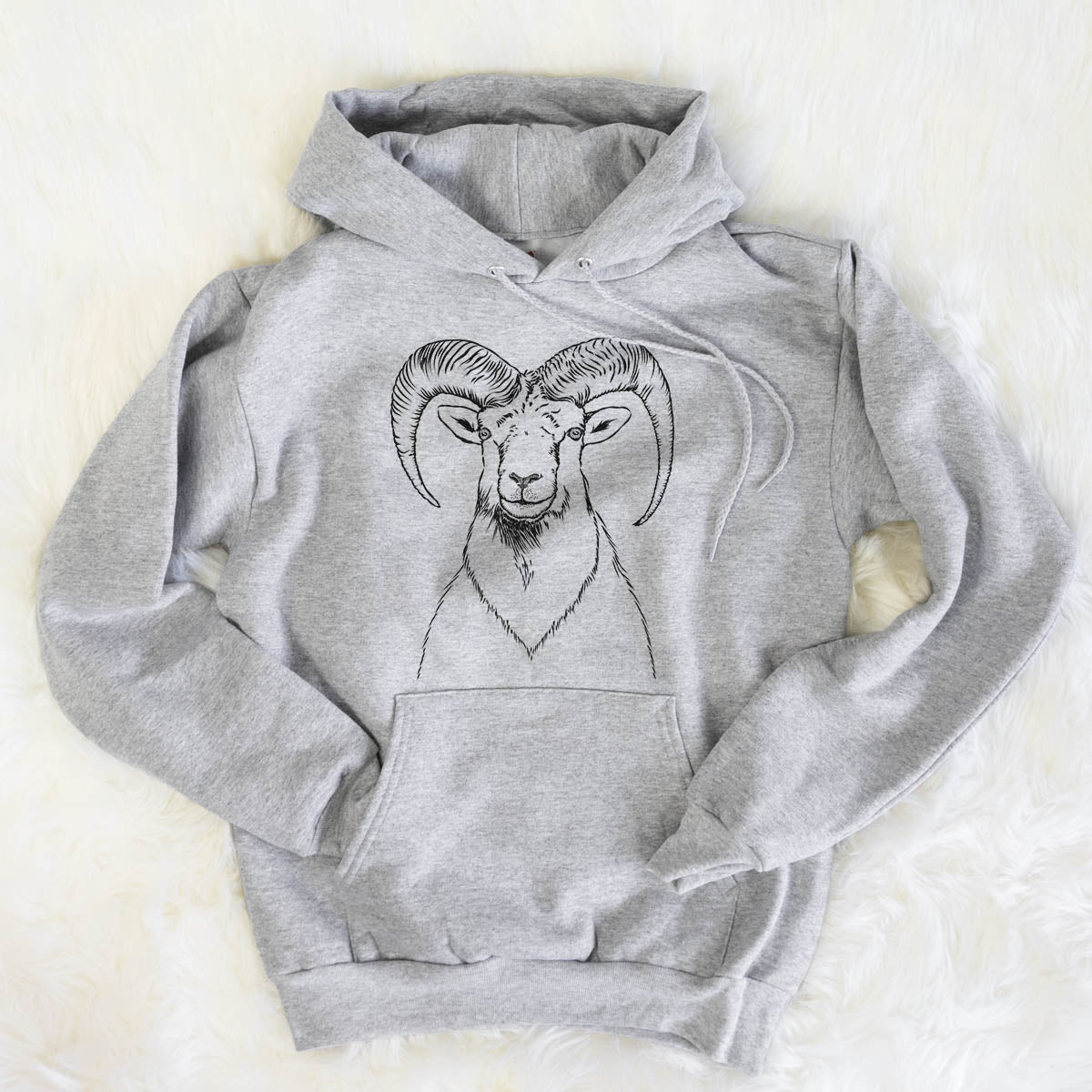 Rod the Ram - Mens Hooded Sweatshirt
