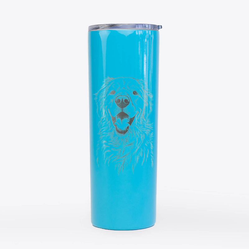 Roger the Golden Retriever - 20oz Skinny Tumbler