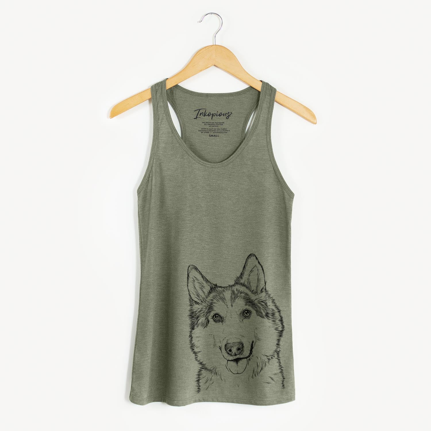 Roshi the Mixed Breed - Racerback Tank Top