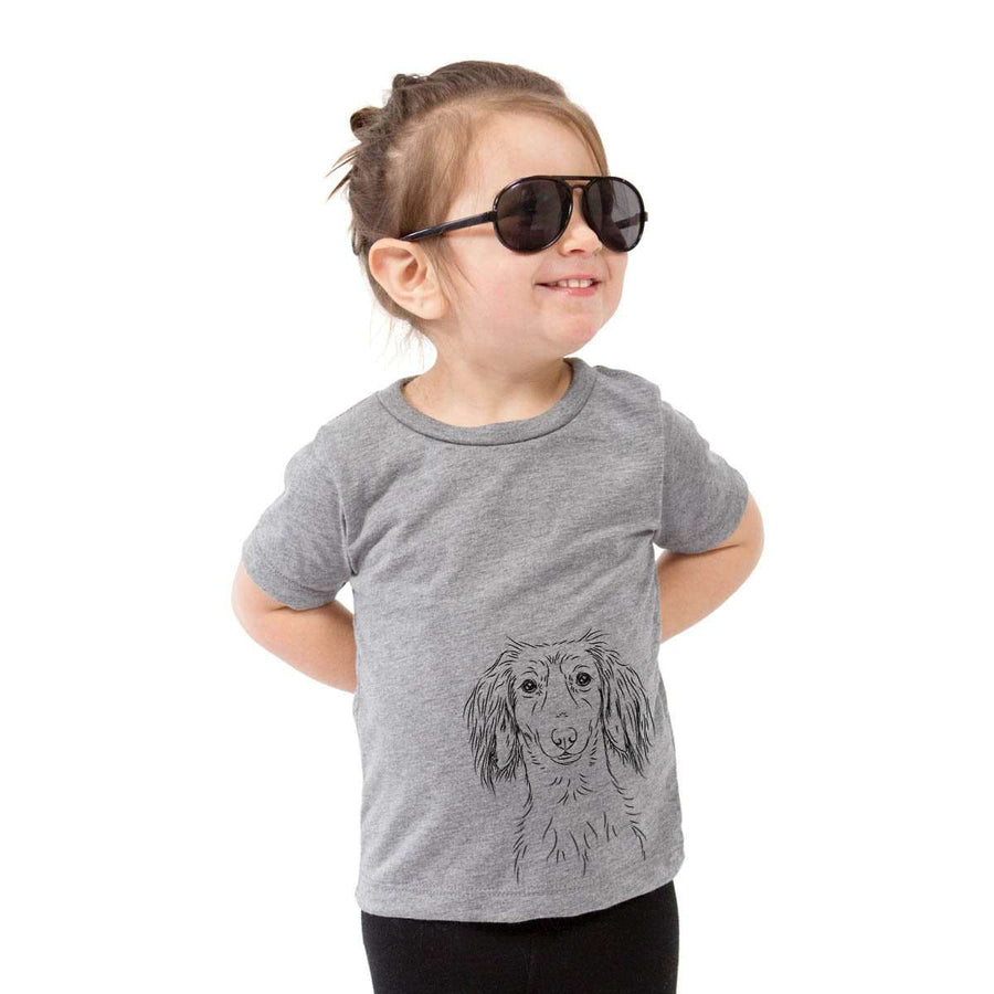 Roux the Long Haired Dachshund - Kids/Youth/Toddler Shirt