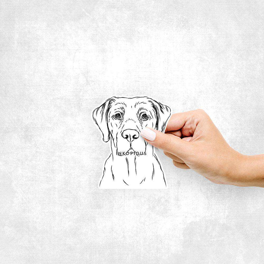 Rowdy the Labrador - Decal Sticker