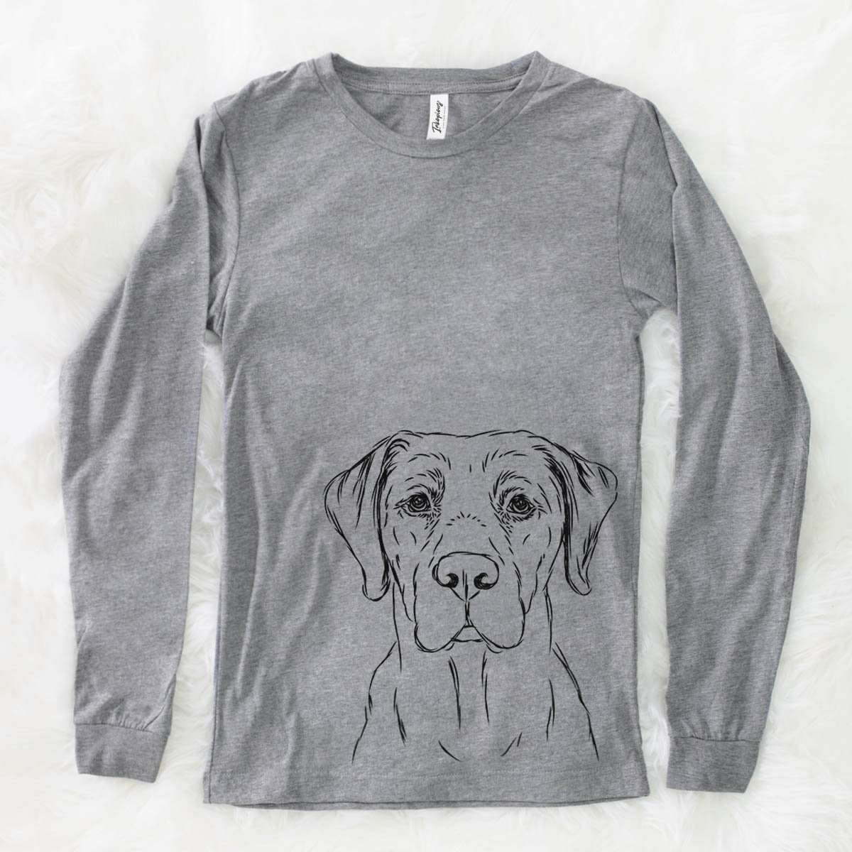 Rowdy the Labrador - Long Sleeve Crewneck