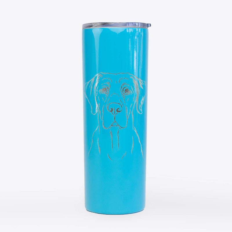 Rowdy the Labrador Retriever - 20oz Skinny Tumbler