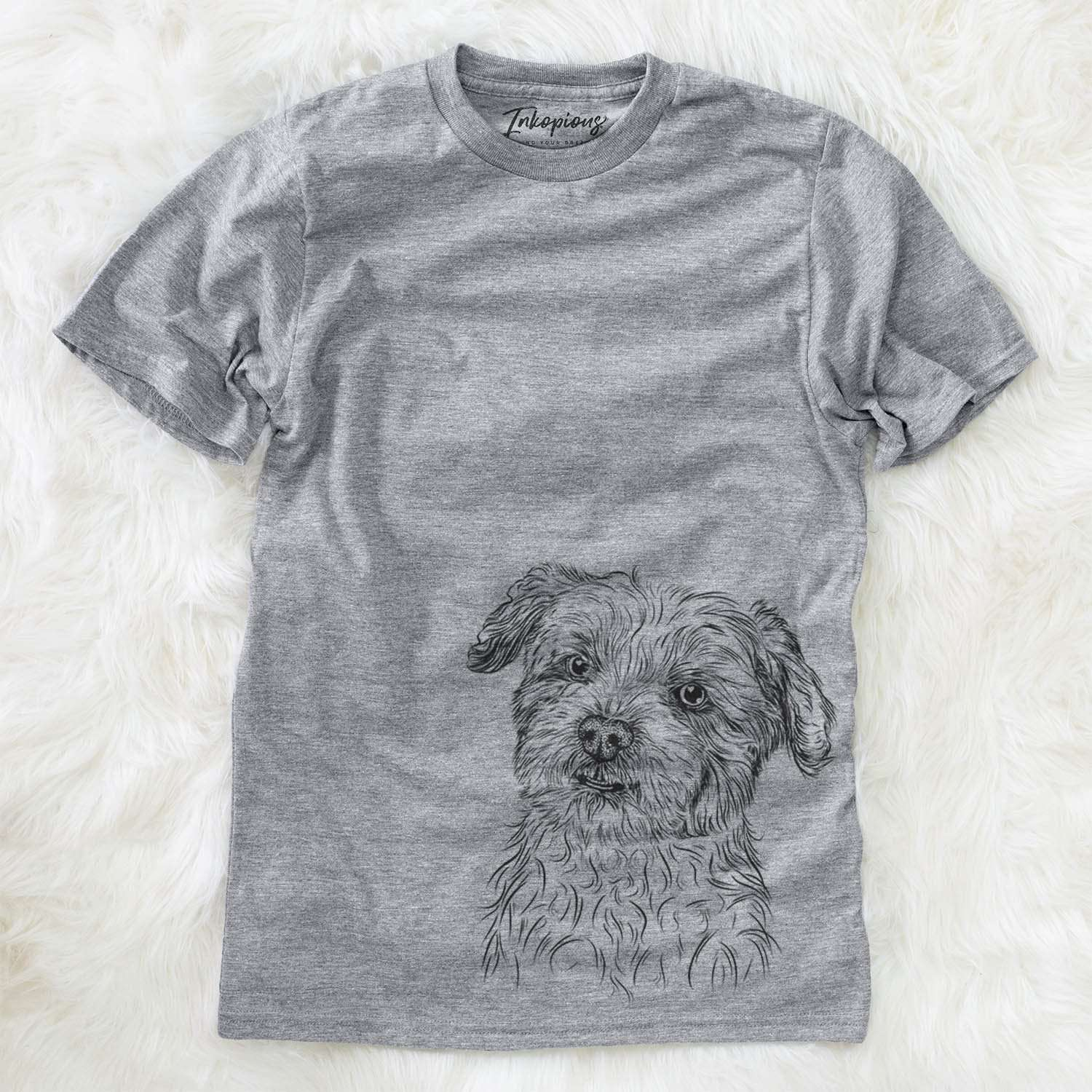 Roxie the Schnauzer Shih Tzu Mix - Unisex Crewneck