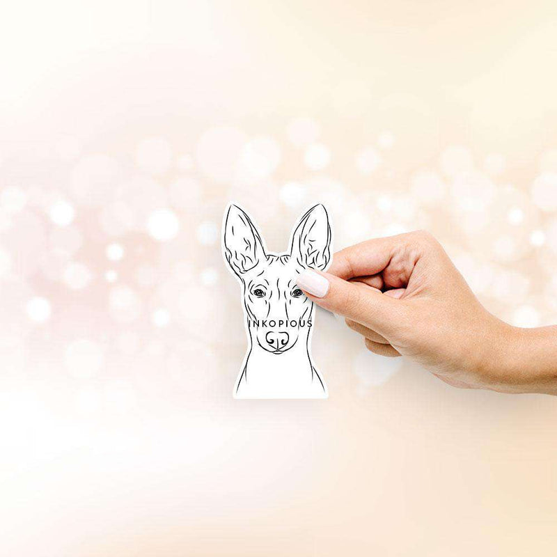 Ruadh the Pharaoh Hound - Decal Sticker