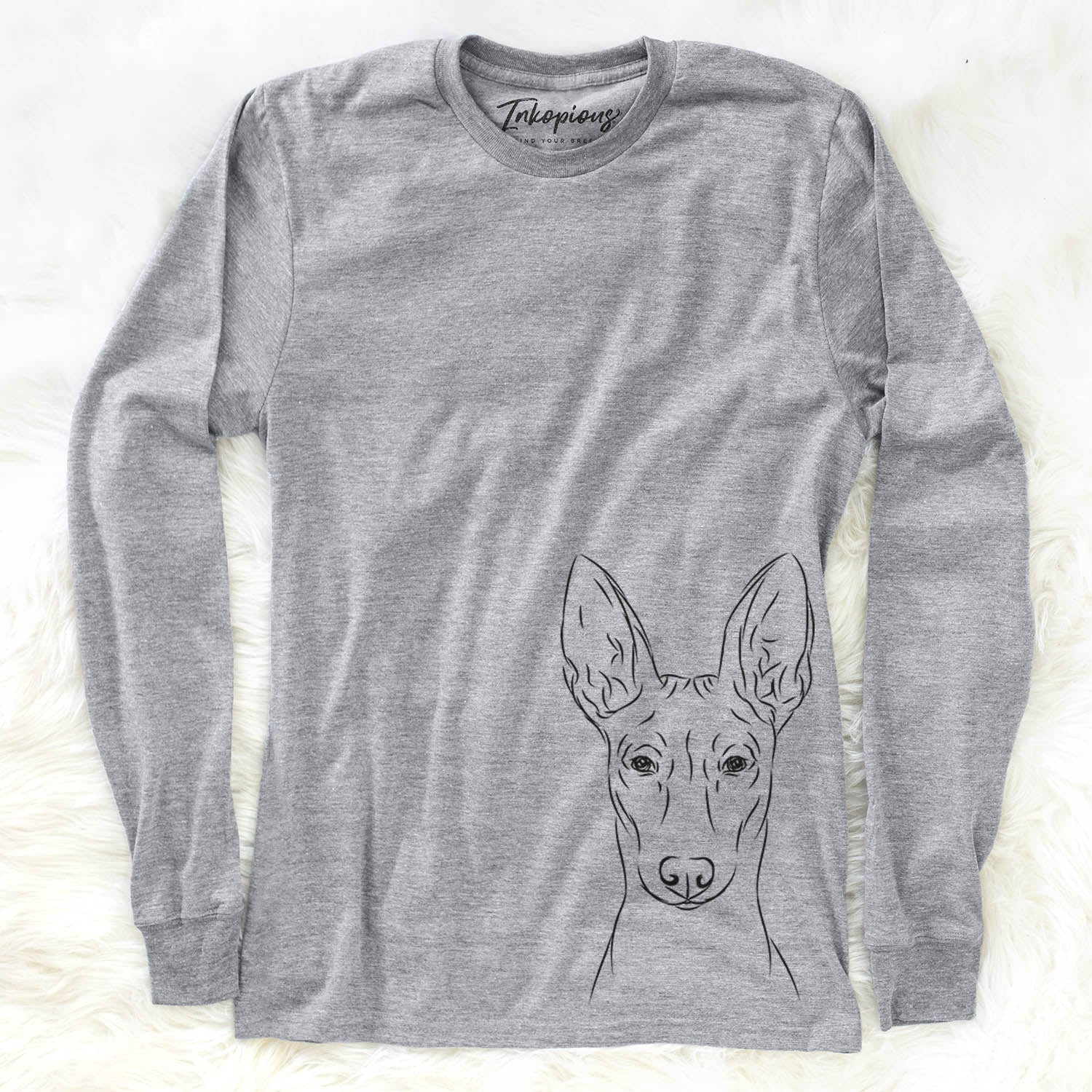 Ruadh the Pharaoh Hound - Long Sleeve Crewneck