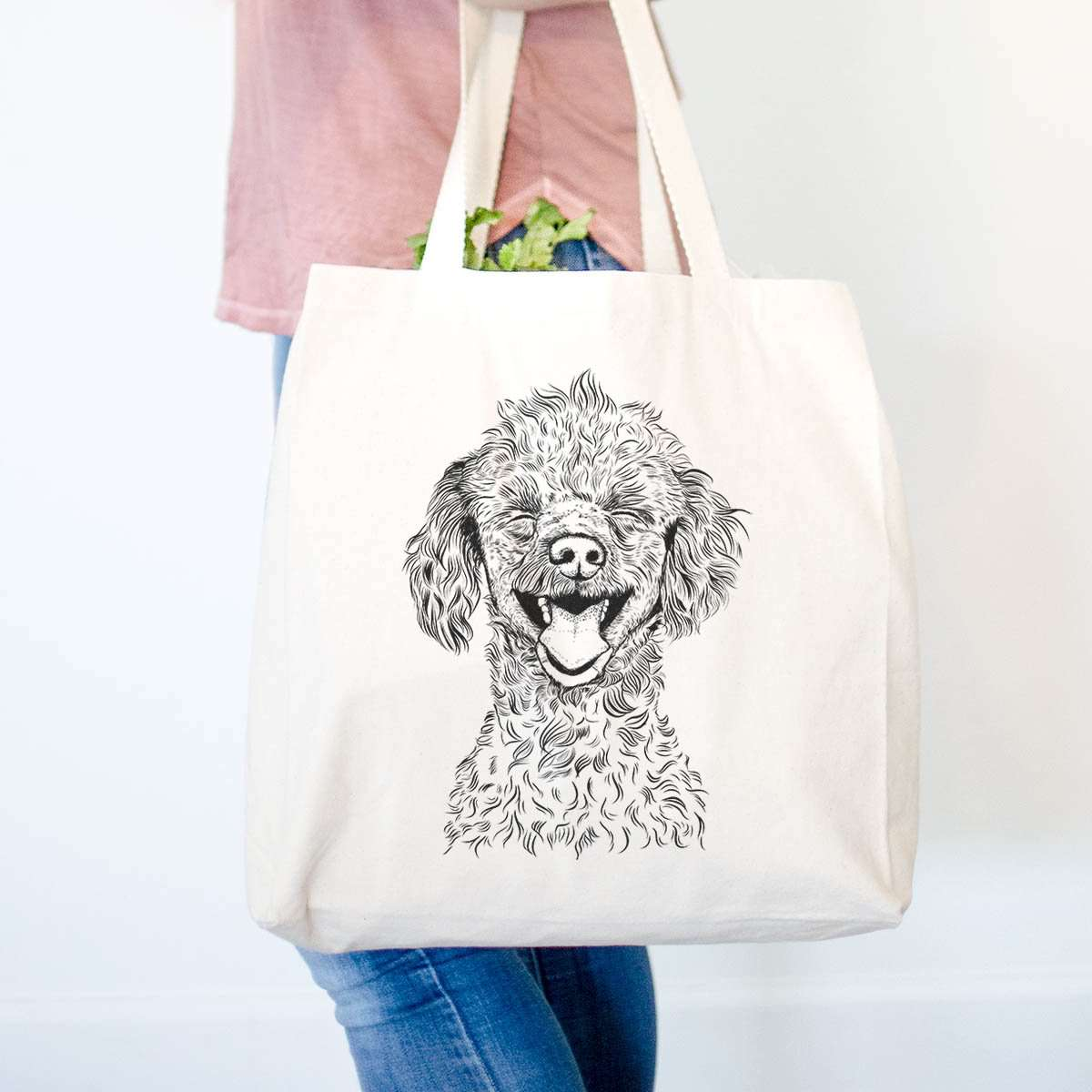 Rusty the Toy Poodle - Tote Bag