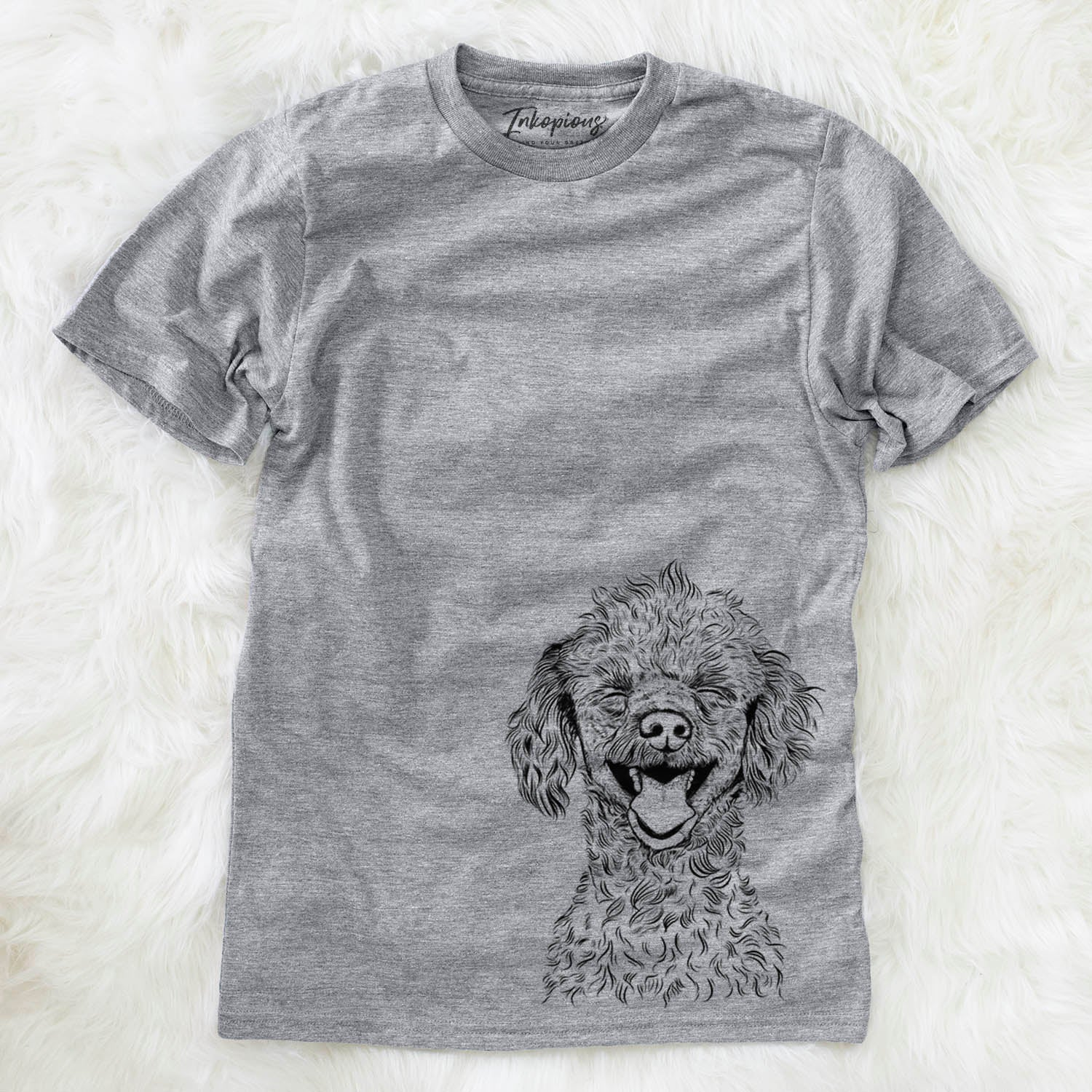 Rusty the Toy Poodle - Unisex Crewneck