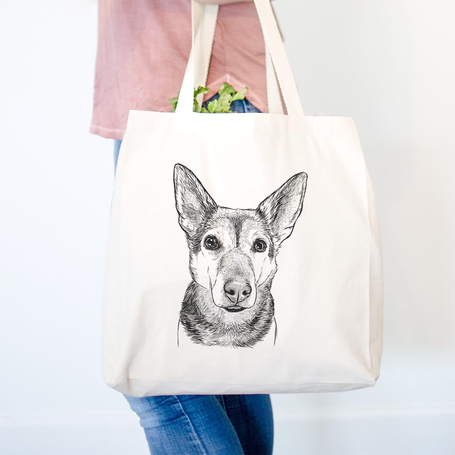 Sammie the Mixed Breed - Tote Bag