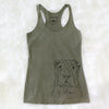 Sharpy the Shar Pei - Tri-Blend Racerback Tank