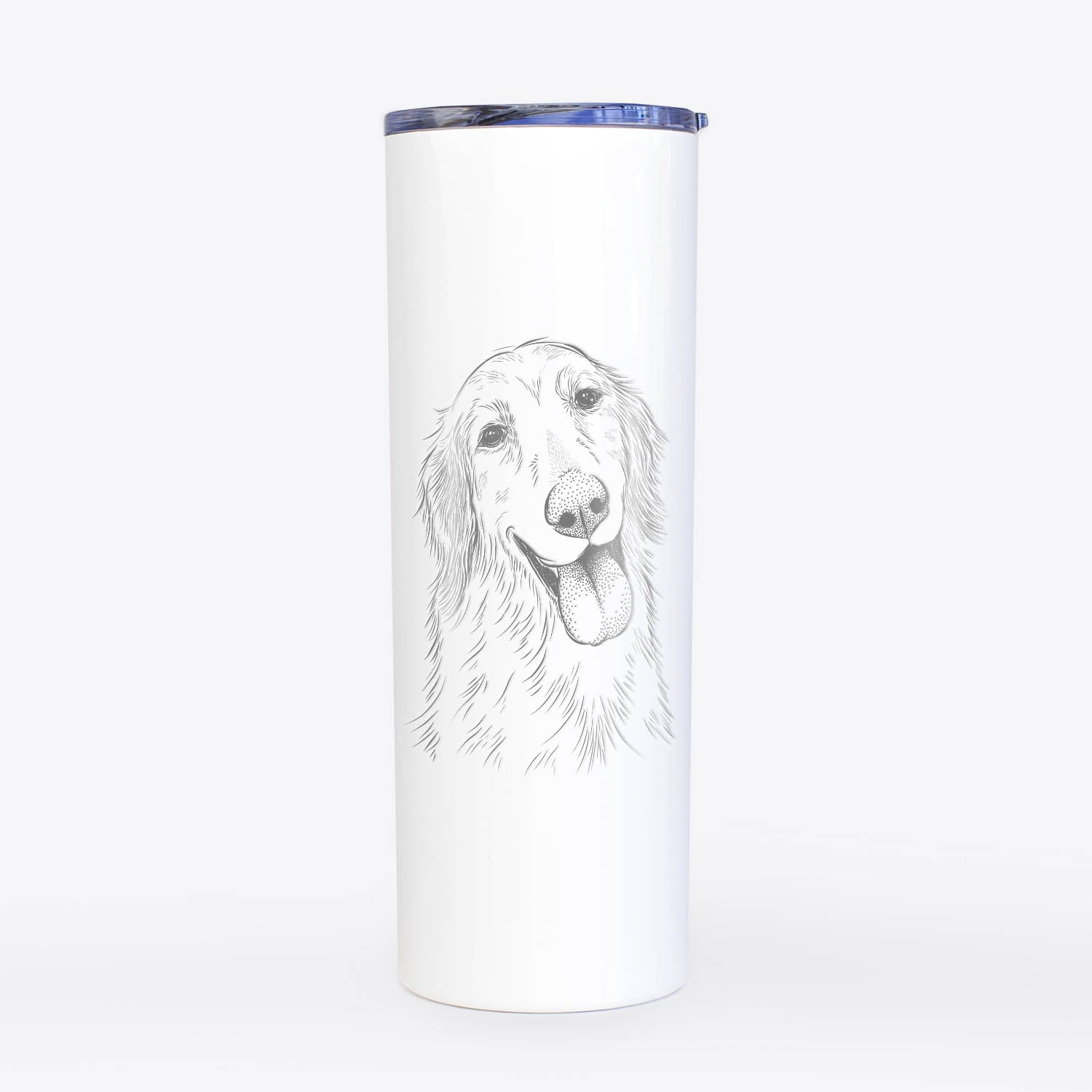 Shelby the Golden Retriever - 20oz Skinny Tumbler
