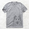 Sheldon the Shetland Sheepdog - Unisex V-Neck Shirt