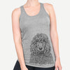 Shilo the Irish Water Spaniel - Racerback Tank Top