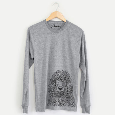 Shilo the Irish Water Spaniel - Long Sleeve Crewneck