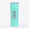 Shilo the Irish Water Spaniel - 20oz Skinny Tumbler