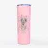 Smokey the Miniature Schnauzer - 20oz Skinny Tumbler