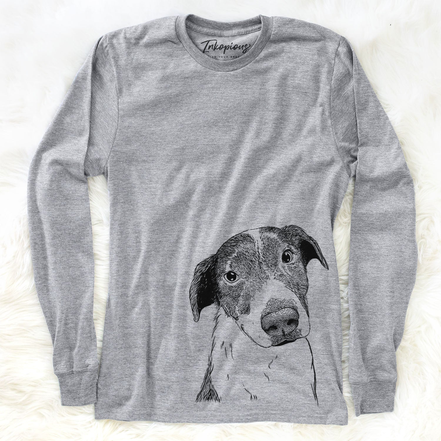 Sophia the Mixed Breed - Long Sleeve Crewneck