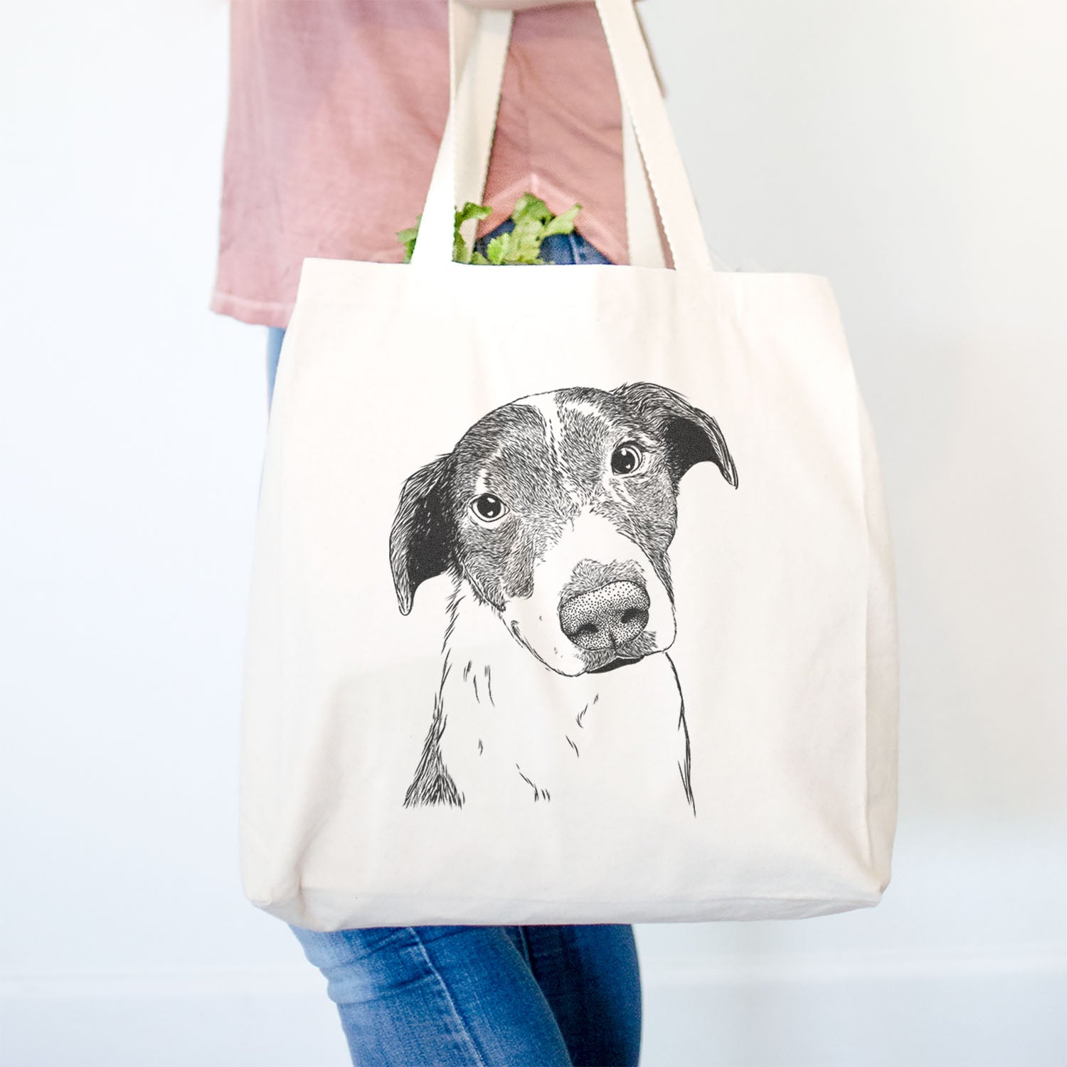 Sophia the Mixed Breed - Tote Bag