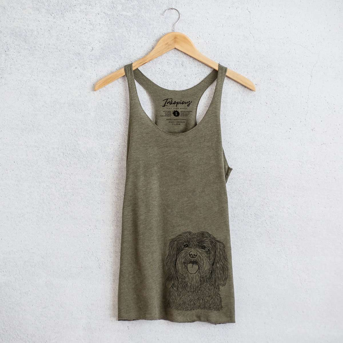Sophie the Havanese - Racerback Tank Top