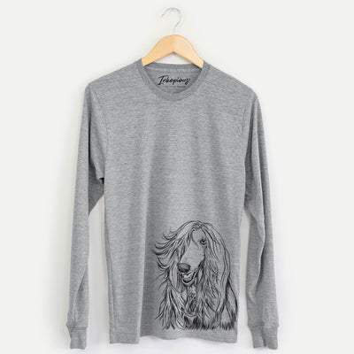 Sterling the Afghan Hound - Long Sleeve Crewneck