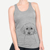 Stitch the Bichonpoo - Racerback Tank Top
