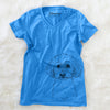 Stitch the Bichonpoo - Women's Modern Fit V-neck Shirt