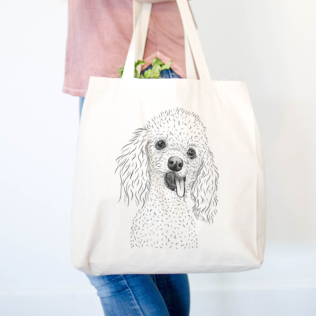 Super Joey the Toy Poodle - Tote Bag
