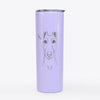 Tanner the Fox Terrier - 20oz Skinny Tumbler
