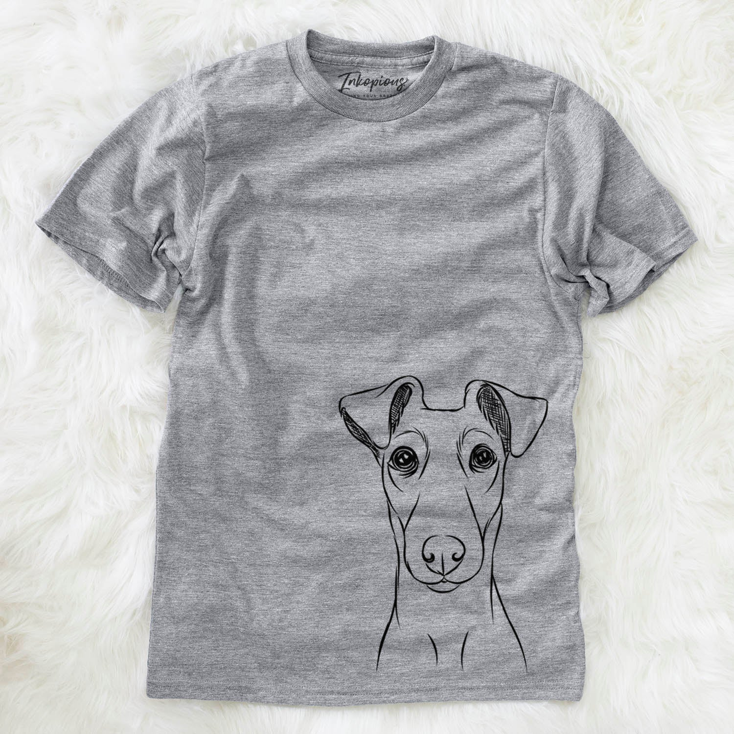Tanner the Fox Terrier - Unisex Crewneck