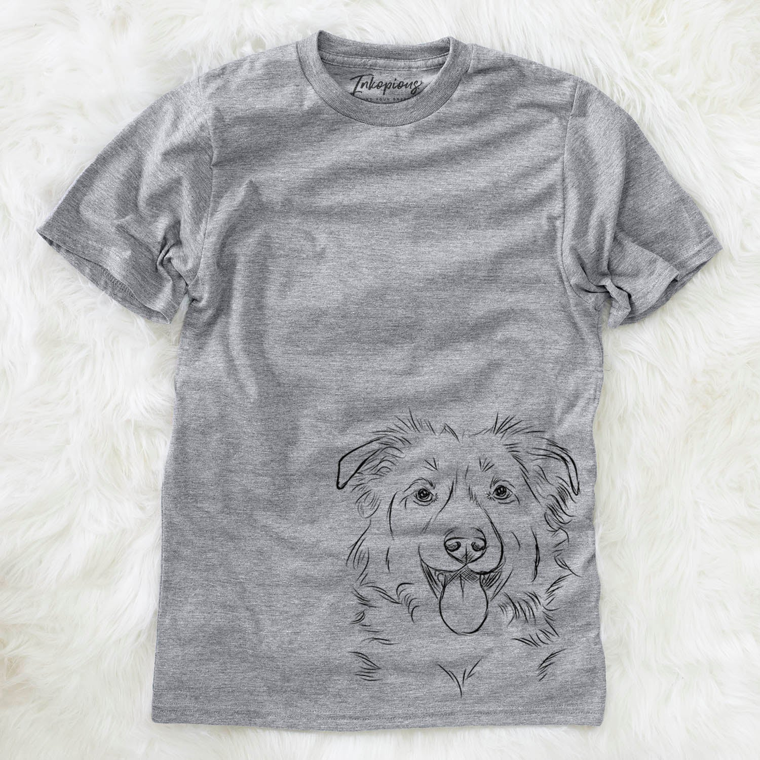 Tucker the Collie Shepherd - Unisex Crewneck