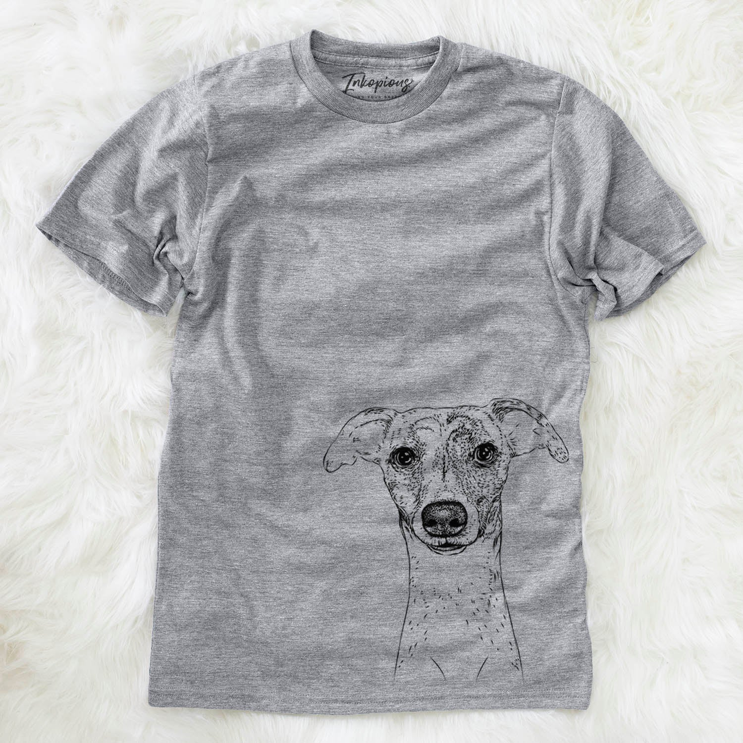 Twiggy the Whippet - Unisex Crewneck