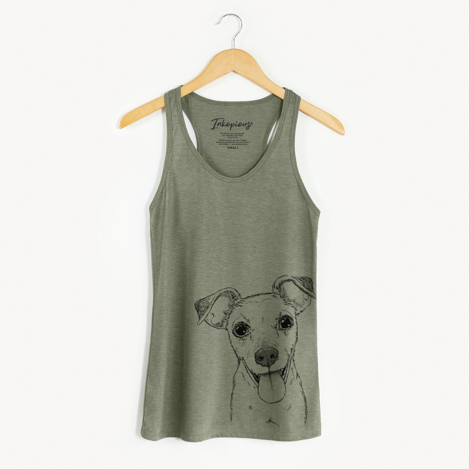 Tyler the Mixed Breed - Racerback Tank Top