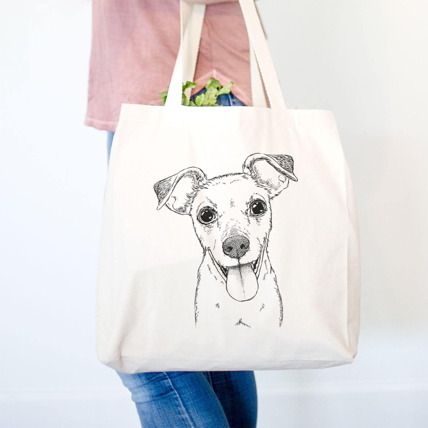 Tyler the Mixed Breed - Tote Bag
