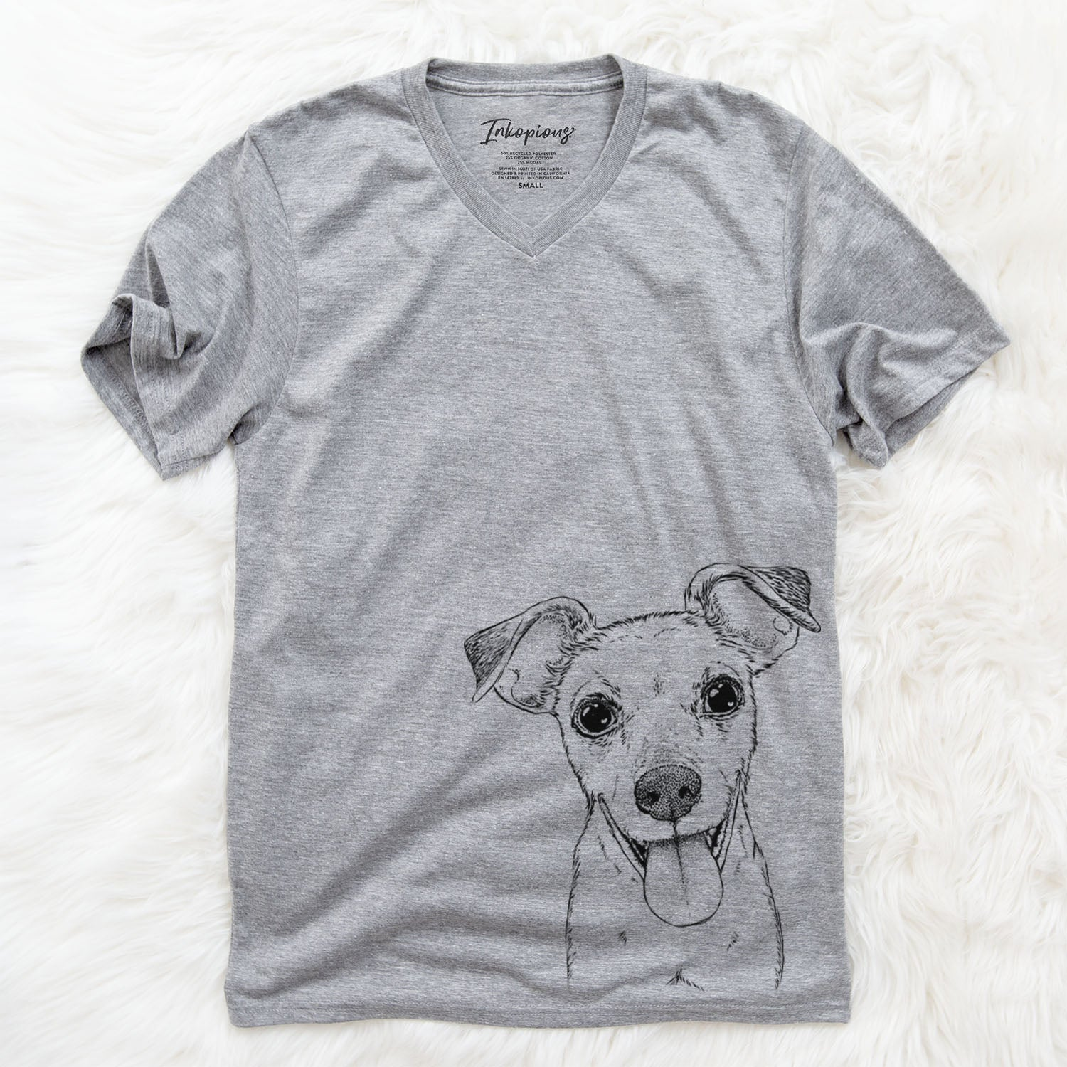 Tyler the Mixed Breed - Unisex V-Neck Shirt