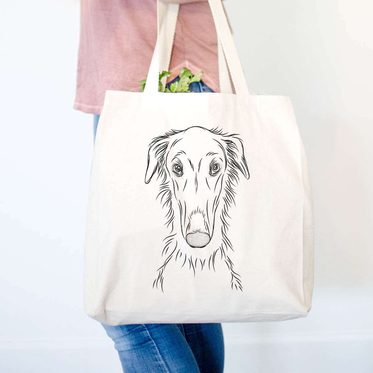 Vaughn the Borzoi - Tote Bag