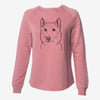 Vox the Siberian Husky - Cali Wave Crewneck Sweatshirt