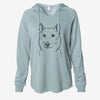 Vox the Siberian Husky - Cali Wave Hooded Sweatshirt