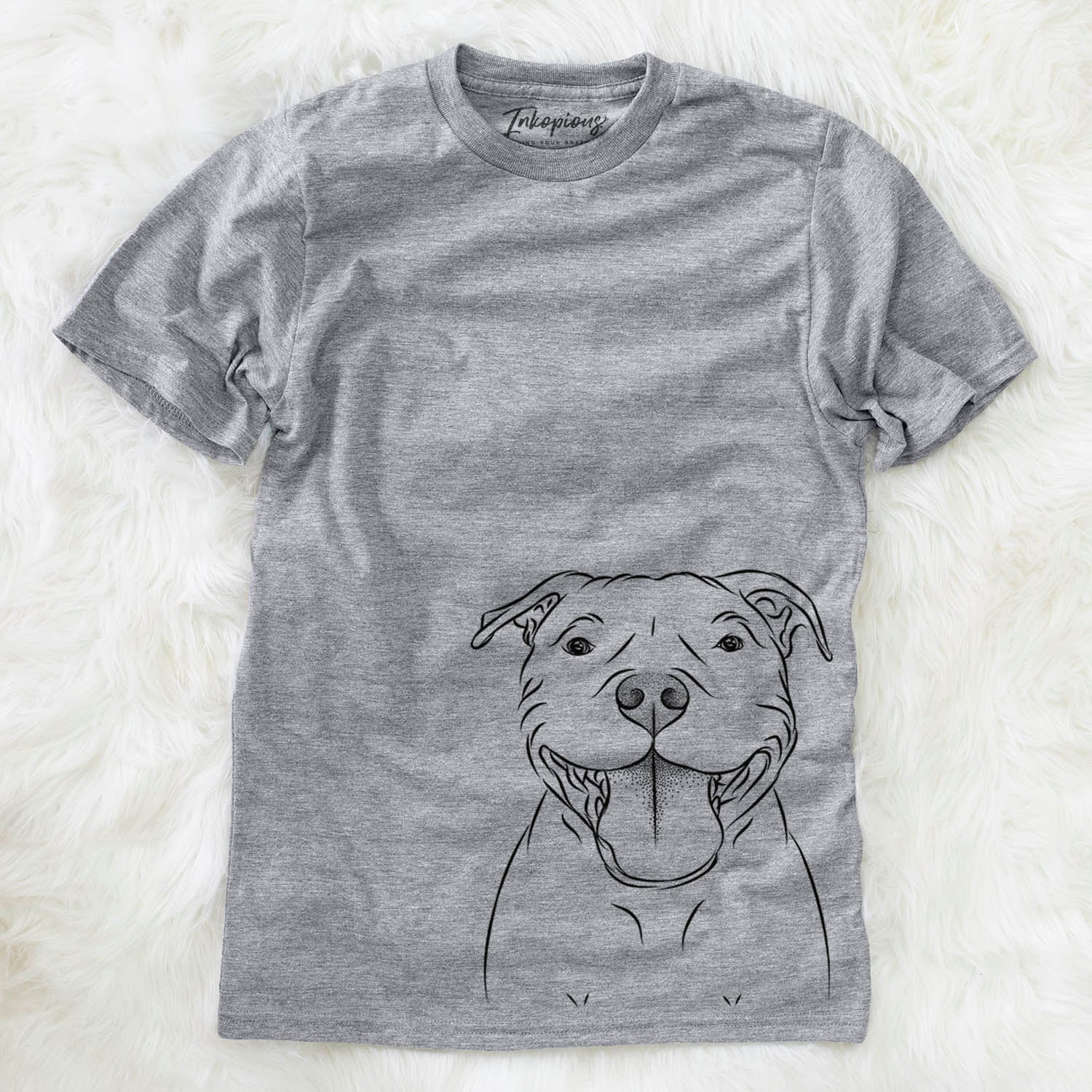 Wafer the Staffordshire Bull Terrier - Unisex Crewneck