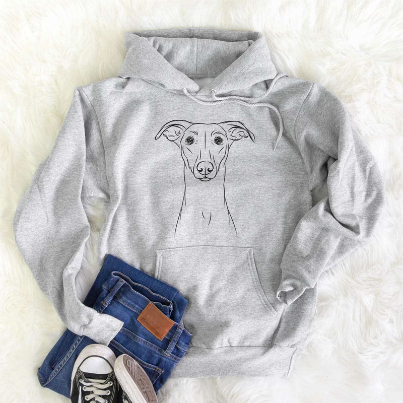 Wallace the Whippet - Mens Hooded Sweatshirt