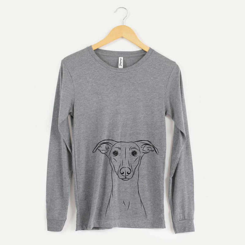 Wallace the Whippet - Long Sleeve Crewneck