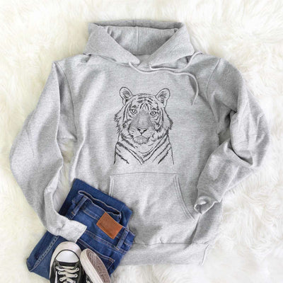 Wayne the Bengal Tiger - Unisex Hooded Sweatshirt