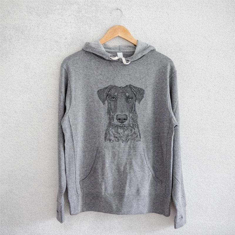 Wesson the Beauceron - French Terry Hooded Sweatshirt