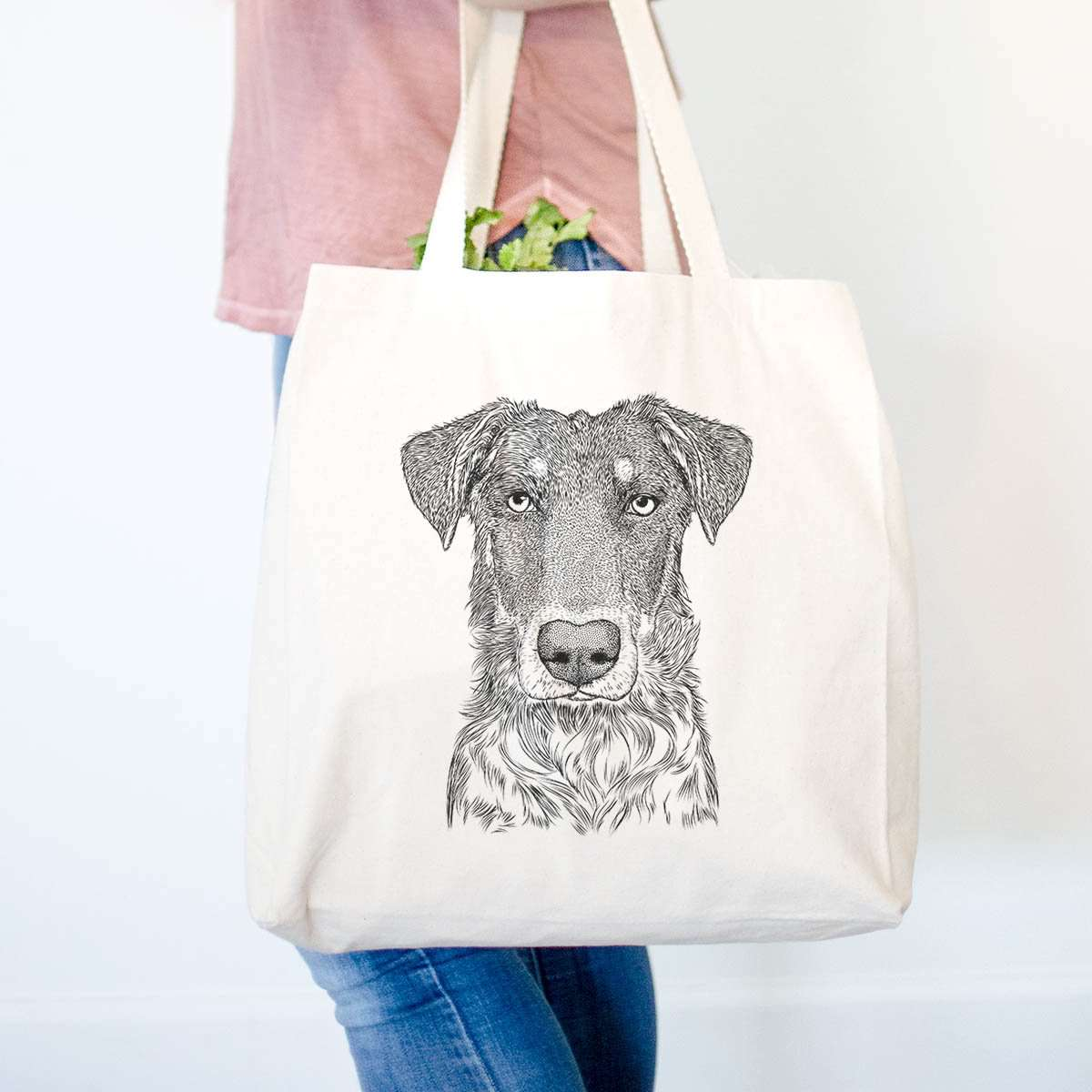 Wesson the Beauceron - Tote Bag