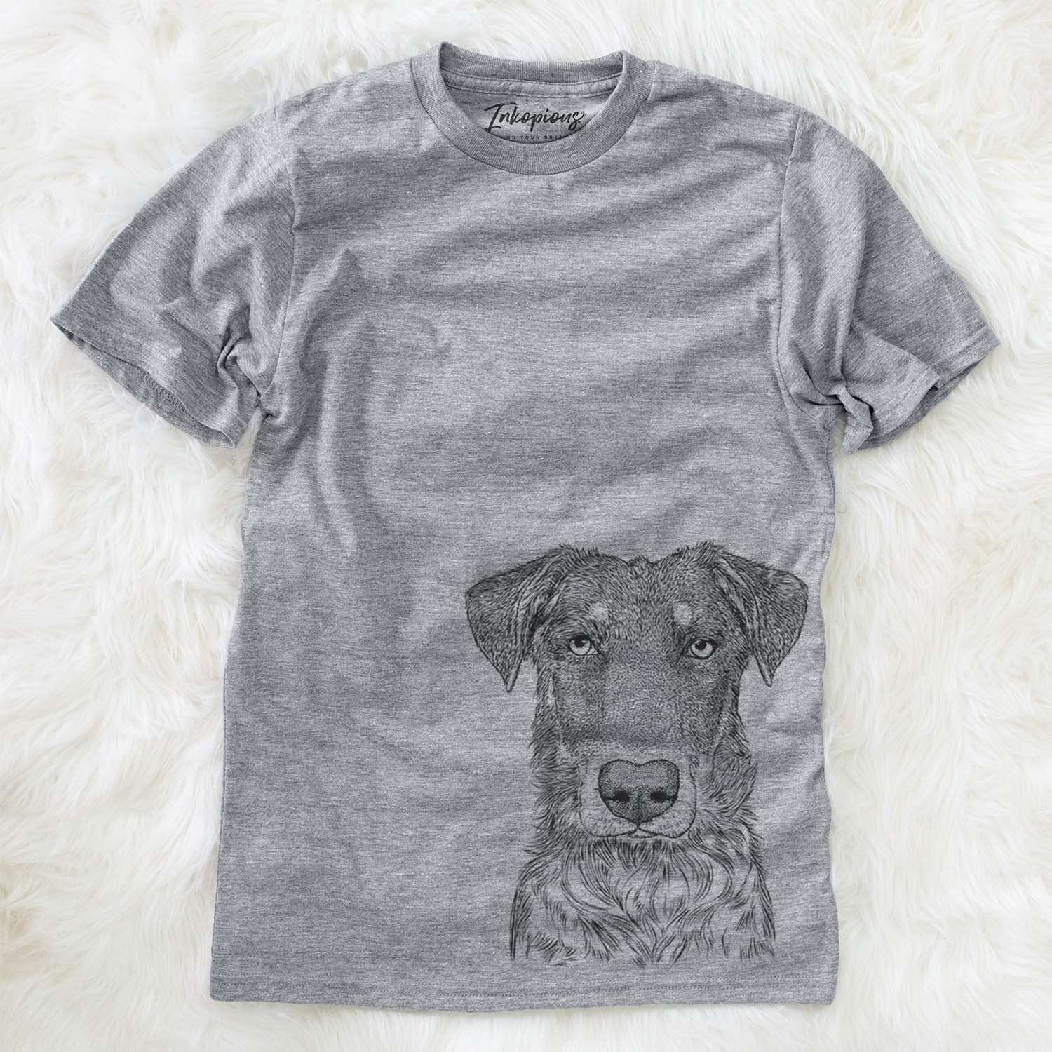 Wesson the Beauceron - Unisex Crewneck