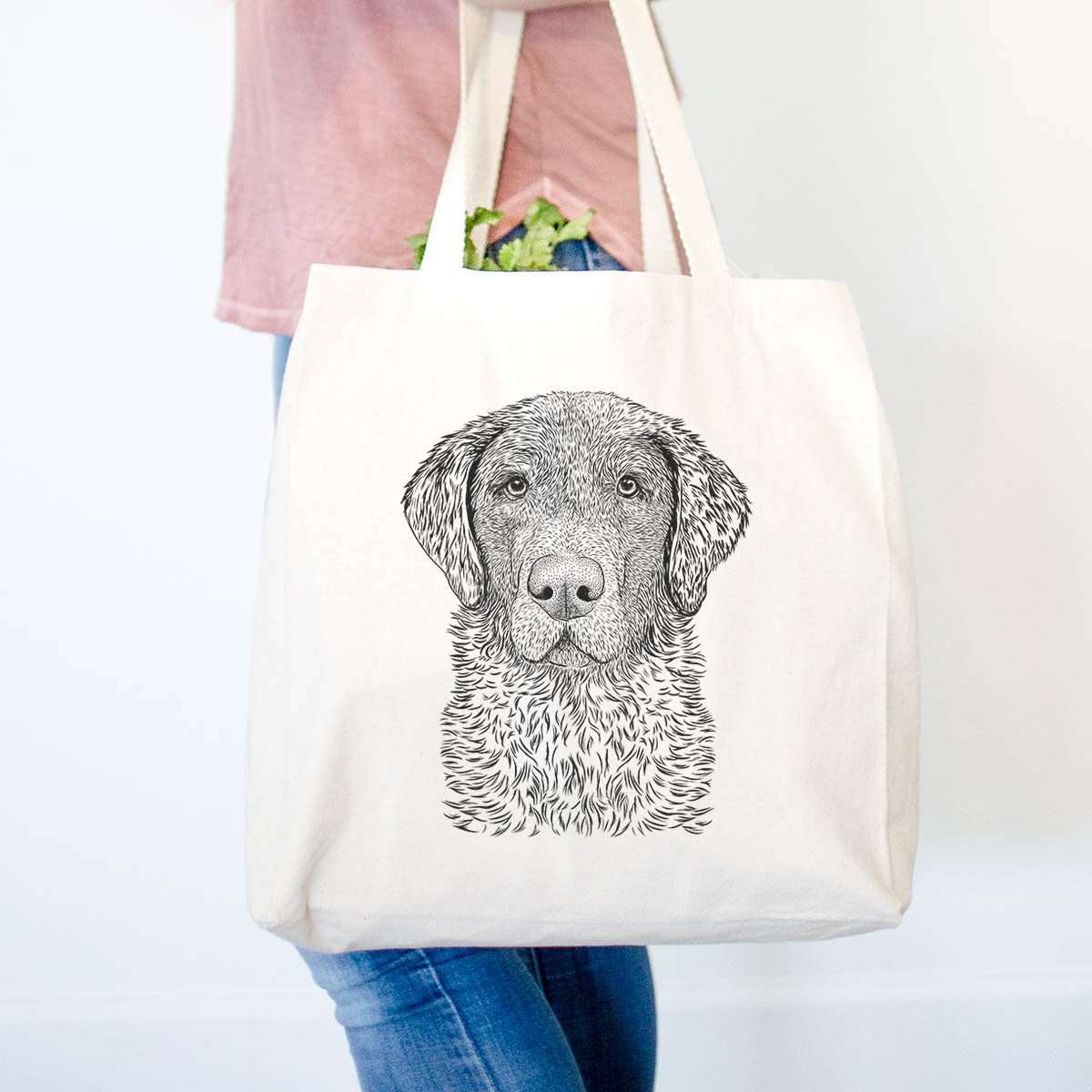 Whiskey the Chocolate Lab - Tote Bag